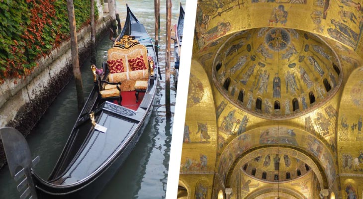 Gondola Ride & The Golden Basilica